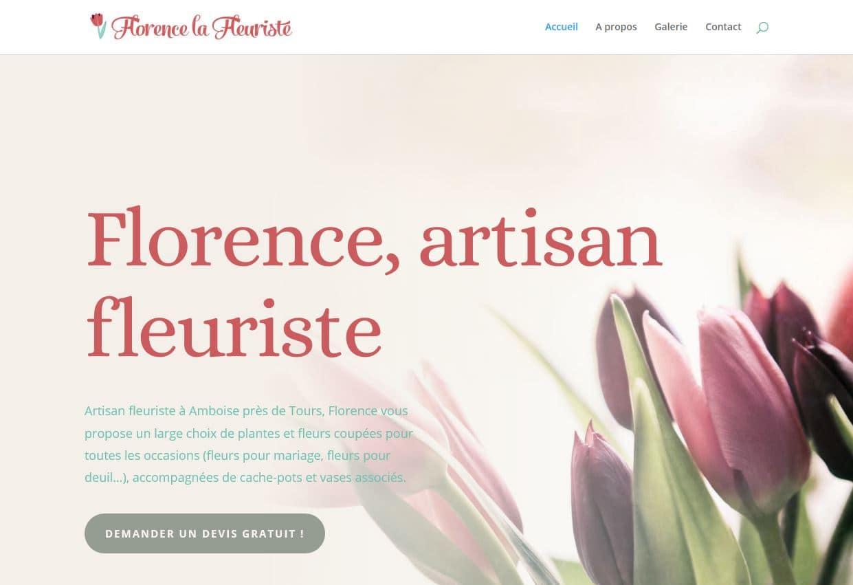 Florence, artisan fleuriste